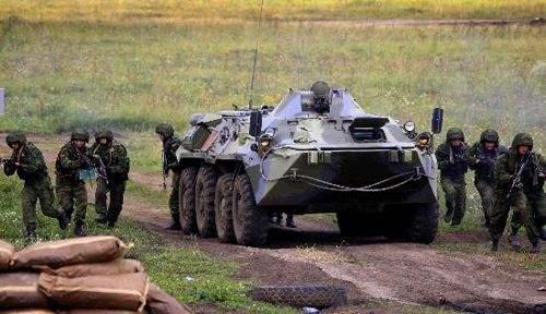 阿塞拜疆舉行大規模軍事演習
