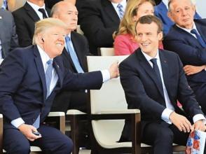 特朗普:希望舉行獨立日盛大閱兵儀式 倣效法國