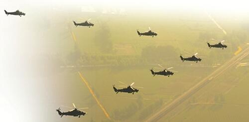 西部戰區陸軍某陸航旅勵志鑄魂鍛造空中鐵拳