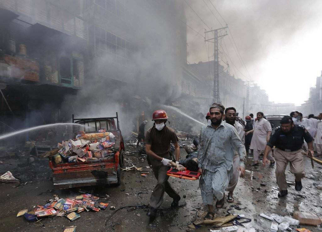 巴基斯坦一工廠發生爆炸致5人死亡