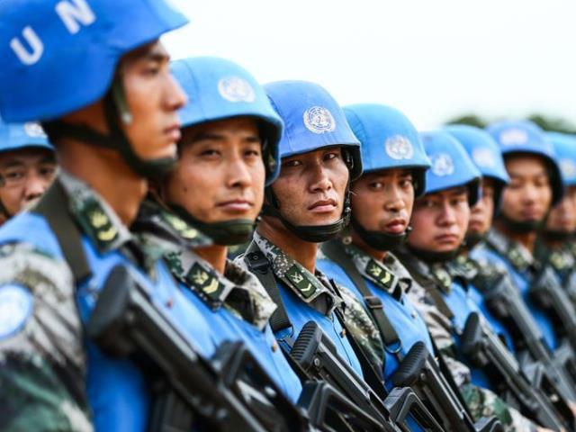 新聞背景:中國積極支持聯合國維和行動