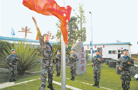 中國第20批赴剛果(金)維和部隊在戰火中詮釋血性擔當