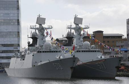 中國海軍第二十六批護航編隊訪問法國