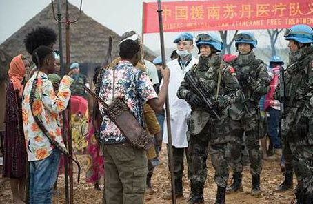 維和,中國軍事外交的閃亮名片