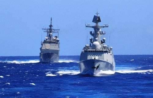 登上中國軍艦 感受祖國力量