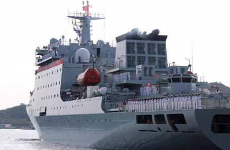 海軍戚繼光艦抵達葡萄牙進行友好訪問