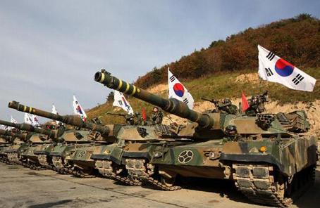 美韓在朝鮮半島搞軍演沒完沒了
