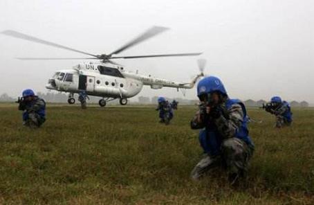 中國維和直升機分隊將在蘇丹達爾富爾遂行任務