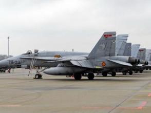 西班牙F-18墜毀:飛行員或為避免撞商業地放棄跳傘