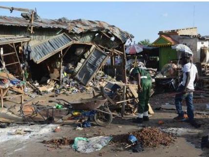 尼日利亞東北部發生自殺式襲擊致數十人死亡