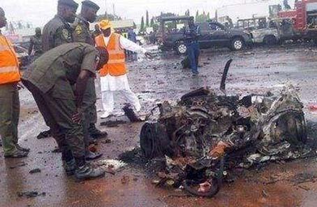 尼日利亞總統譴責尼東北部發生的自殺式襲擊