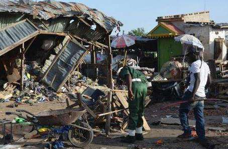 尼日利亞自殺式襲擊死亡人數升至50人