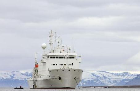 俄羅斯 打造新型情報船