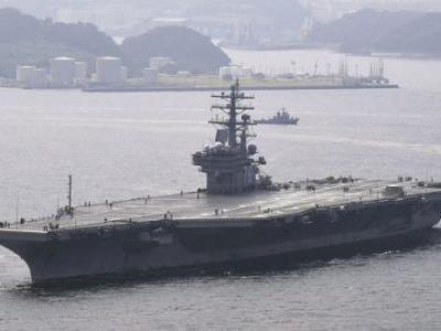 外媒:美海軍運輸機在衝繩附近墜海 8人獲救