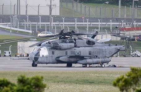 日警方進美軍基地調查機窗墜落 要求停飛呼聲擴大