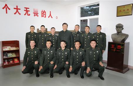 習近平視察王傑生前所在連在全軍和武警部隊引起強烈反響
