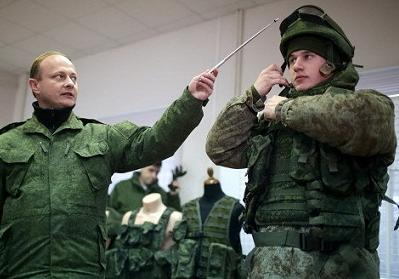 """俄第二代""""戰士""""單兵作戰服防彈效果佳"""