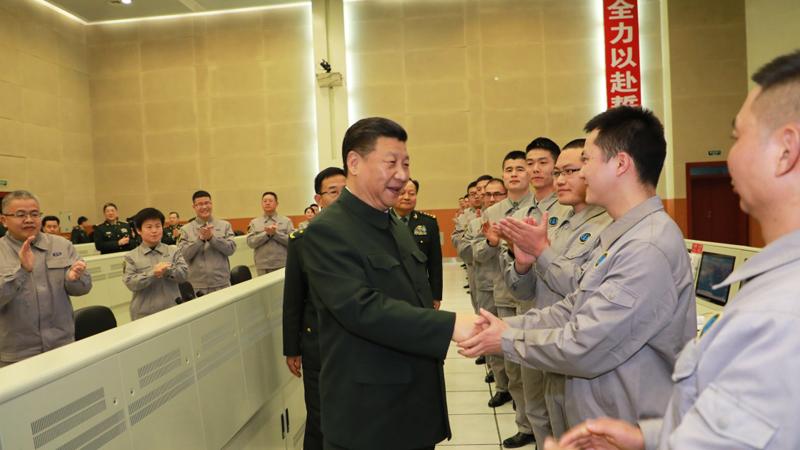 習近平春節前夕視察看望駐四川部隊某基地官兵