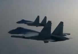 空軍新春宣傳片:披露殲20和蘇35實戰訓練影像