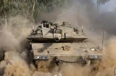 以色列出動坦克和戰機打擊加沙地帶哈馬斯目標