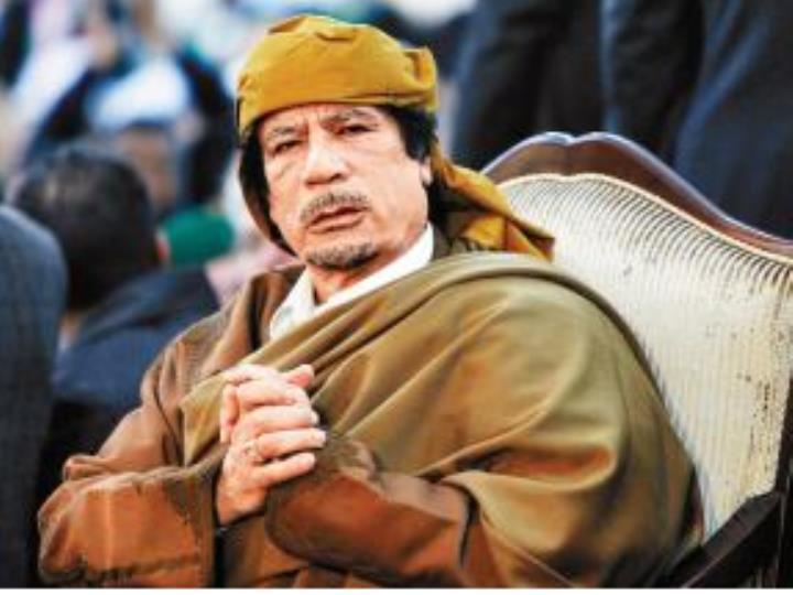 英媒:秘密文件披露英國軍情六處曾暗助卡扎菲