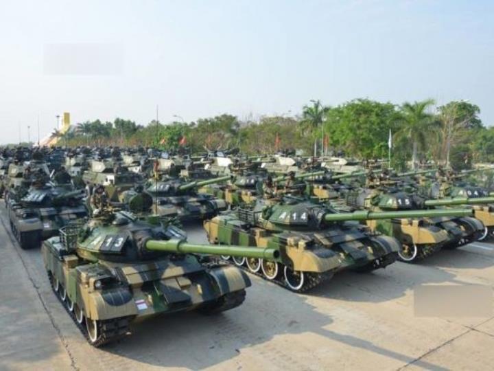 緬甸舉行首次三軍聯演 超8000名官兵演練兩棲戰