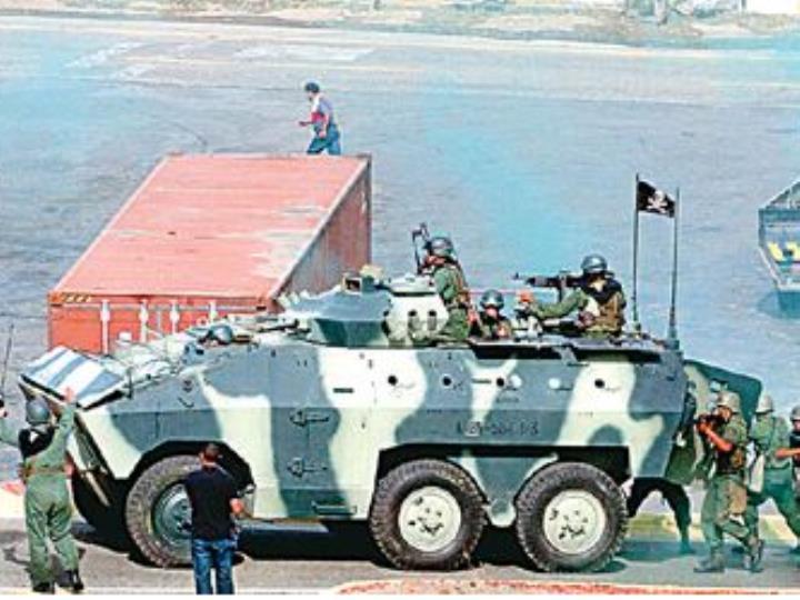 抵禦鄰國襲擊?委內瑞拉本周末軍演秀肌肉