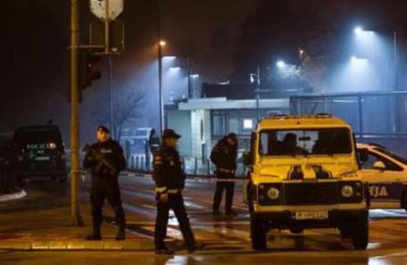 一名男子向美國駐黑山使館投擲爆炸物後自殺