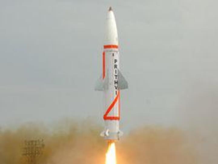 """印度成功進行""""大地-2""""型短程導彈夜間試射"""