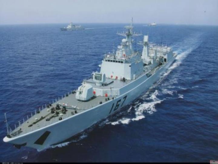 驅逐艦,我們中國人自己也能造!