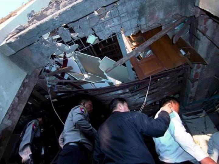 緬甸譴責臘戍爆炸恐怖行徑