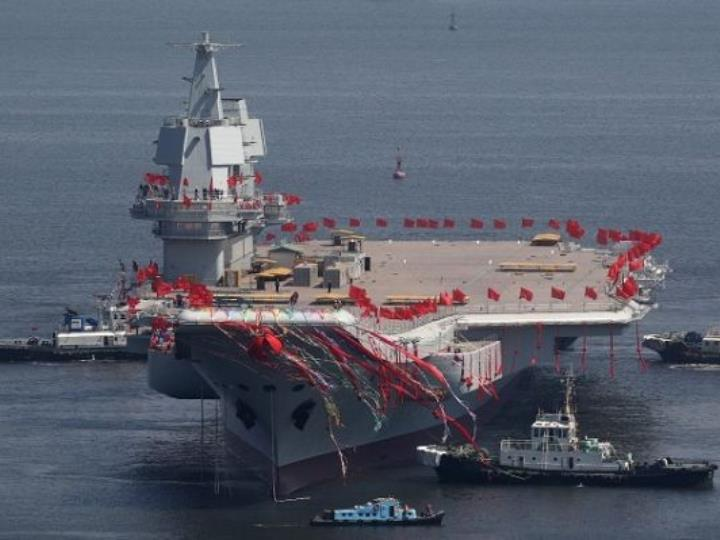 """英媒:中國軍力""""超速""""增強 2050年或建成一流強軍"""
