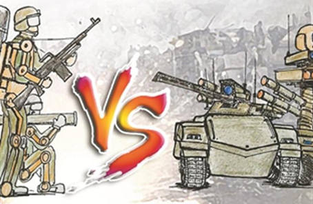 誰會成為新時代陸戰場的主宰?無人坦克VS機甲戰士