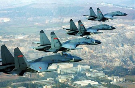 中國空軍發布強軍宣傳片《奮飛在春天》