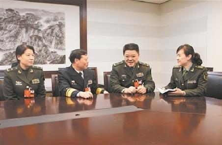 軍隊人大代表談組建退役軍人事務部
