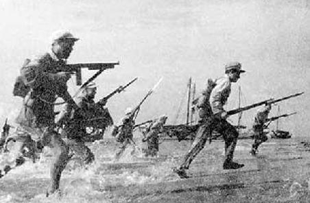 智庫析解放軍經典登陸戰 不戰而屈人之兵