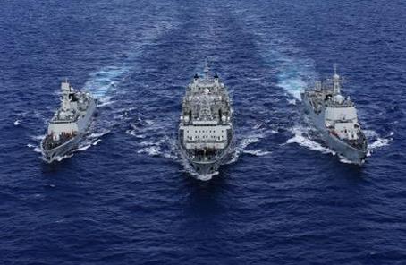 解放軍代表委員談海軍走向深藍