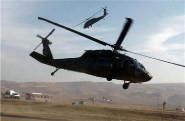美軍説在伊拉克墜毀直升機上7人全部死亡