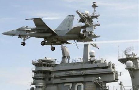 """美航母先訪菲越再與日本軍演:意在""""威懾中國"""""""