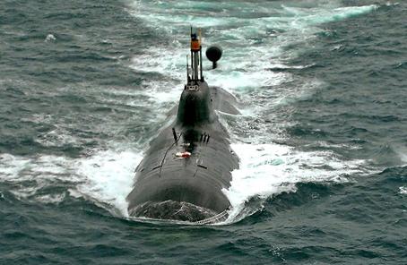 """俄海軍總司令説2020年前建造7艘""""白蠟樹""""級核潛艇"""