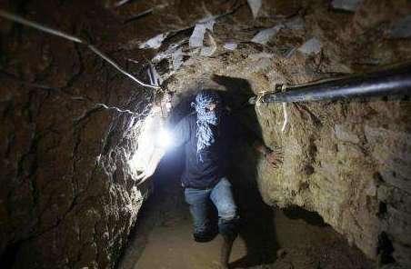 """動用""""最新技術"""" 以色列摧毀加沙在建地道"""