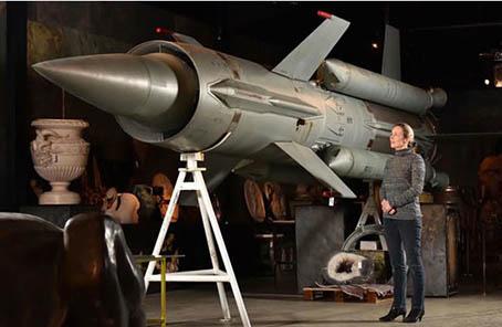 收藏個導彈玩玩?蘇制防空導彈將在英國拍賣