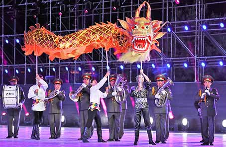 光影∣上海合作組織第五屆軍樂節在京開幕
