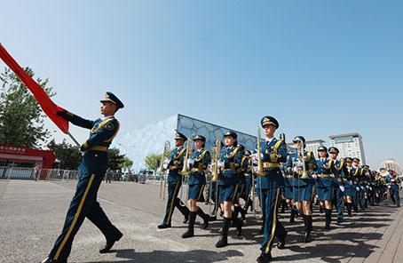 上海合作組織第五屆軍樂節築起友誼合作新長城