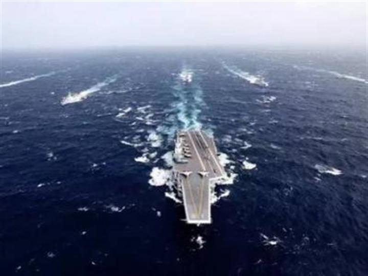 海軍航母編隊完成遠海實兵對抗訓練返航