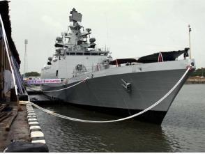 中艦艇跟蹤偵察印隱形戰艦?專家:缺乏常識的誤判