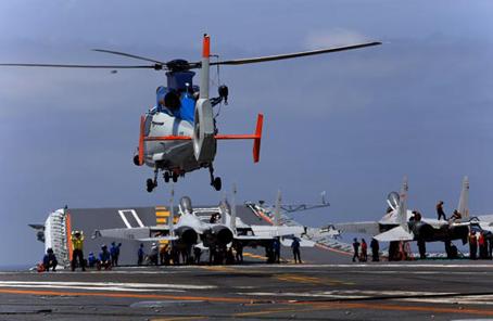 遼寧艦航母編隊初步形成體係作戰能力意味著什麼
