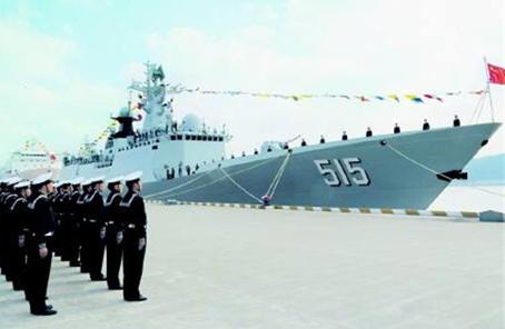 第二十九批護航編隊濱州艦在德舉行艦艇開放日