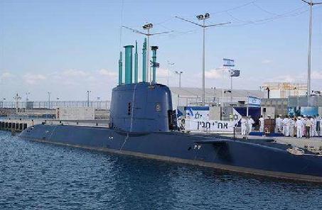 以色列海軍完成新型重型魚雷測試