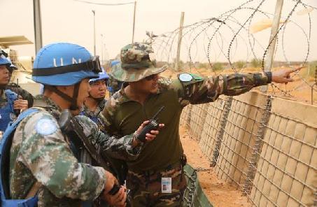 第一!我維和警衛分隊在聯合國作戰能力評估奪冠